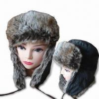 Buy cheap Flyer's Hat with Various Colors, Soft Microfleece Outer Shell, Fake fur Lined Ear Flaps from wholesalers