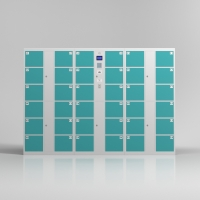 Buy cheap 36 Doors Smart Post Parcel Delivery Electronic Storage Locker from wholesalers