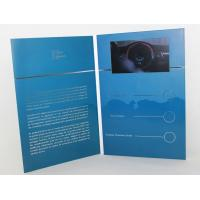 Buy cheap 5 silver printing Video Brochure Card , fair display lcd video business cards from wholesalers