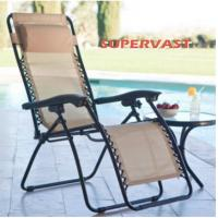 Buy cheap Outdoor Furniture Modern Mesh Zero Gravity Lounge Chair / Sun Lounger Chairs from wholesalers