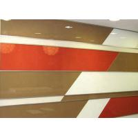Buy cheap 8mm Wardrobe Door Mirror Glass , Decorative Lacquered Glass Various Colors from wholesalers