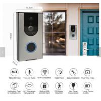 Buy cheap Wifi Wireless Visual Intercom Smart Doorbell For Home Security With APP Control Ring Alarm Security Wireless Wifi Video from wholesalers