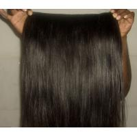 Buy cheap Jet Black Virgin Cambodian Hair Extensions Micro Weft Silk Straight from wholesalers