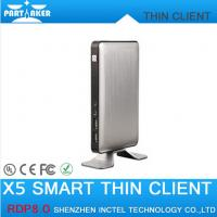 Buy cheap RDP8 Thin Client X5 for Windows MultiPoint Sever and Windows 8 Fanless Cloud Computer VMware from wholesalers