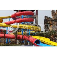 Buy cheap Long Spiral Water Ride Aqua Park Equipment Inner Width 0.8m from wholesalers