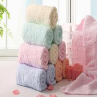 Buy cheap 72*32cm Cotton Pure Color Light Color Towel Toalhas Face towel Hand towel from wholesalers