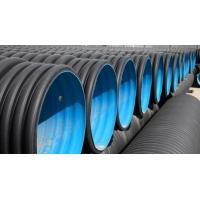 Buy cheap HDPE double wall corrugated drainage hdpe sewage pipes DWC PE PIPE from wholesalers