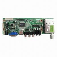 Buy cheap Full HD LCD TV Controller Board, TSUMV26KELF IC, Global System, Color OSD, 10-bit ADC from wholesalers