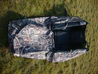 Buy cheap Waterproof folding camo ground hunting blinds with aluminum frame from wholesalers