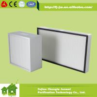 Buy cheap Mini pleat HEPA Filter H13, H14 from wholesalers