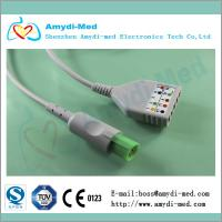 Buy cheap Hellige ecg cable ecg trunk cable, CE and ISO certificate product
