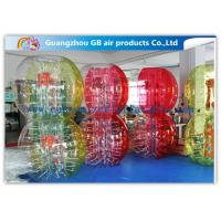 Buy cheap Custom Amazing Bubble Suit Inflatable Bumper Ball For Sports Entertainment product