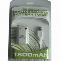 Buy cheap Rechargeable Battery Pack for xBox 360 Game Accessories from wholesalers