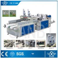 Buy cheap 9Kw Auto Polythene Bag Manufacturing Machine / Equipment With Two Sealing knifes from wholesalers