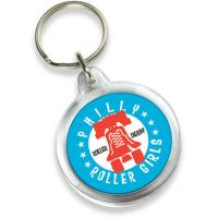 Buy cheap plastic acrylic design shoe keychain from wholesalers