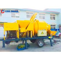 Buy cheap Diesel 40m3 / H Concrete Mixer Pump JB40R Model With 100m Free Pipes / Spare Parts diesel engine from wholesalers