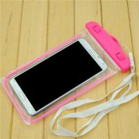 Buy cheap Universal 5.5 Inch Pvc Waterproof Phone Bag For Iphone 6s 6 Plus , Pink / Oragne / Blue from wholesalers