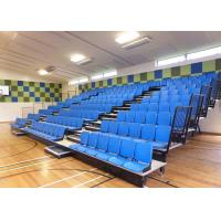 Blow Moudled Retractable Grandstand / Retractable Tiered Seating With Tip - Up Base