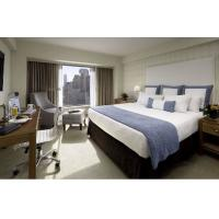 Buy cheap Deluxe Hotel Room Furnishings ,  King Size Hotel Guest Room Furniture In PU Finish from wholesalers