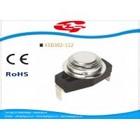 Buy cheap KSD302-112 Automatic reset Snap Disc Thermostat , Bimetal Disc Thermostat product