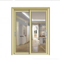 Buy cheap champagne sliding glass door patio doors China suppliers  aluminum sliding window from wholesalers