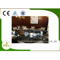 Buy cheap Upper or Down Fume Exhaustion Gas Teppanyaki Grill Table 12 Seats Pipeline Natural Gas Heating from wholesalers
