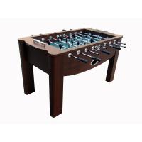 Buy cheap Chromed Steel Rod Deluxe 5FT Football Table Wooden Soccer Table For Indoor product