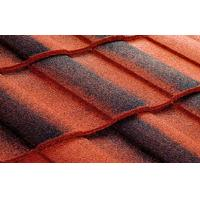 Buy cheap Galvalume Double Roman Roof Tiles Light Weight Metal Roofing Tile from wholesalers
