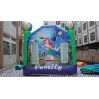 Buy cheap Mermaid Themed Kids Inflatable Castle Bouncer Commercial Grade PVC Anti UV from wholesalers