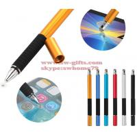 Buy cheap 2 in 1 Multifunction Fine Point Round Thin Tip Touch Screen Pen Capacitive Stylus Pen For Smart Phone Tablet For iPad from wholesalers