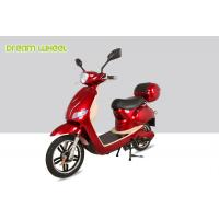 Buy cheap 25-32km/h Canada moped power assisted electric scooter/bicycle with 500W 48V battery from wholesalers