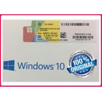 Buy cheap FQC - 08929 Windows 10 Pro Retail Box 64 Bit Genuine OEM For Global Area from wholesalers