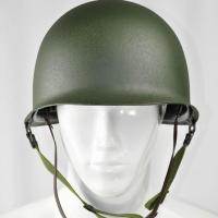 Buy cheap Green color M1 helmet double steel helmet  for US Army in World War II from wholesalers
