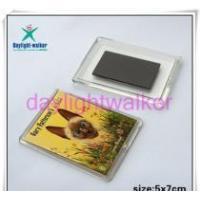 Plastic Fridge Magnet