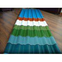 Buy cheap customized color CGCC, DX51D Z adornment Pre painted Corrugated steel Roof Sheets / Sheet from wholesalers