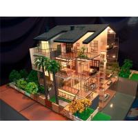 Buy cheap Miniature Villa Scale Model With Detail Landscape , 3d Model Makers For Villa House from wholesalers