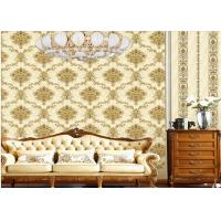 Buy cheap High End 1.06 Meter Wallpaper For Living Room Wall , Household Modern Textured product