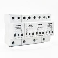 Buy cheap 100KA lightning surge arrester surge suppressor electrical surge protective device spd from wholesalers