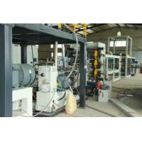 Buy cheap 700kg/h Plastic Sheet Manufacturing Machine PP Sheet Extruder Machine Low Energy Consumption from wholesalers