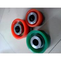 Buy cheap Triplex drilling mud pump bonded urethane pistons interchangeable with Mission green duo pistons from wholesalers