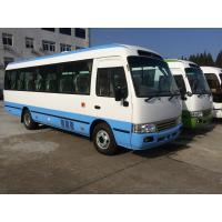 Buy cheap Petrol High Roof Long Wheelbase Commercial Utility Coaster Bus For Tourist Use product