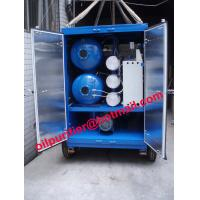 Buy cheap Chinese Portable Transformer Oil Dehydration System, Mobile Vacuum Transformer Oil Purifier Plant from wholesalers