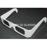 Buy cheap Disposable Circular Polarized Plastic 3D Glasses For Reald / Masterimage System from wholesalers