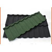 Buy cheap 1340x420mm Galvalume Steel Sheet Material Stone Coated Steel Roofing Eco Friendly from wholesalers