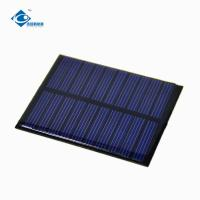 Buy cheap 0.5W 5.5V cheapest Epoxy Resin Solar Panel for solar cell phone charger ZW-6855 solar photovoltaic panels product