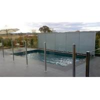 Buy cheap 12 MM Clear Pool Fencing Glass Toughened For Railing System from wholesalers