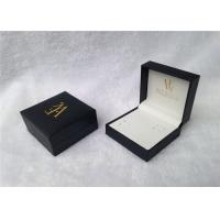 Buy cheap Embossing Travel Watch And Cufflink Case With Square Shape , SGS Standard from wholesalers