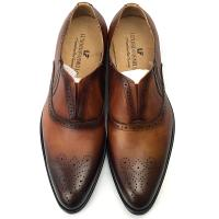Buy cheap Italy Handmade Leather Men Formal Dress Shoes Oxford Office Shoes from wholesalers
