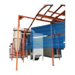 Buy cheap Plastic pvd coating paint/power coating equipment/powder coating machine for aluminium profile from wholesalers