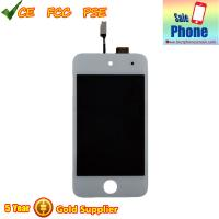 Buy cheap iPod 4th Generation white Touch Screen Glass Digitizer LCD Assembly 100% original New from wholesalers